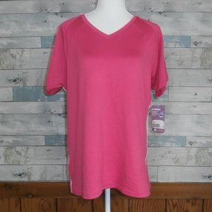 Russell Athletic Pink Dri-Power Workout Shirt  F33